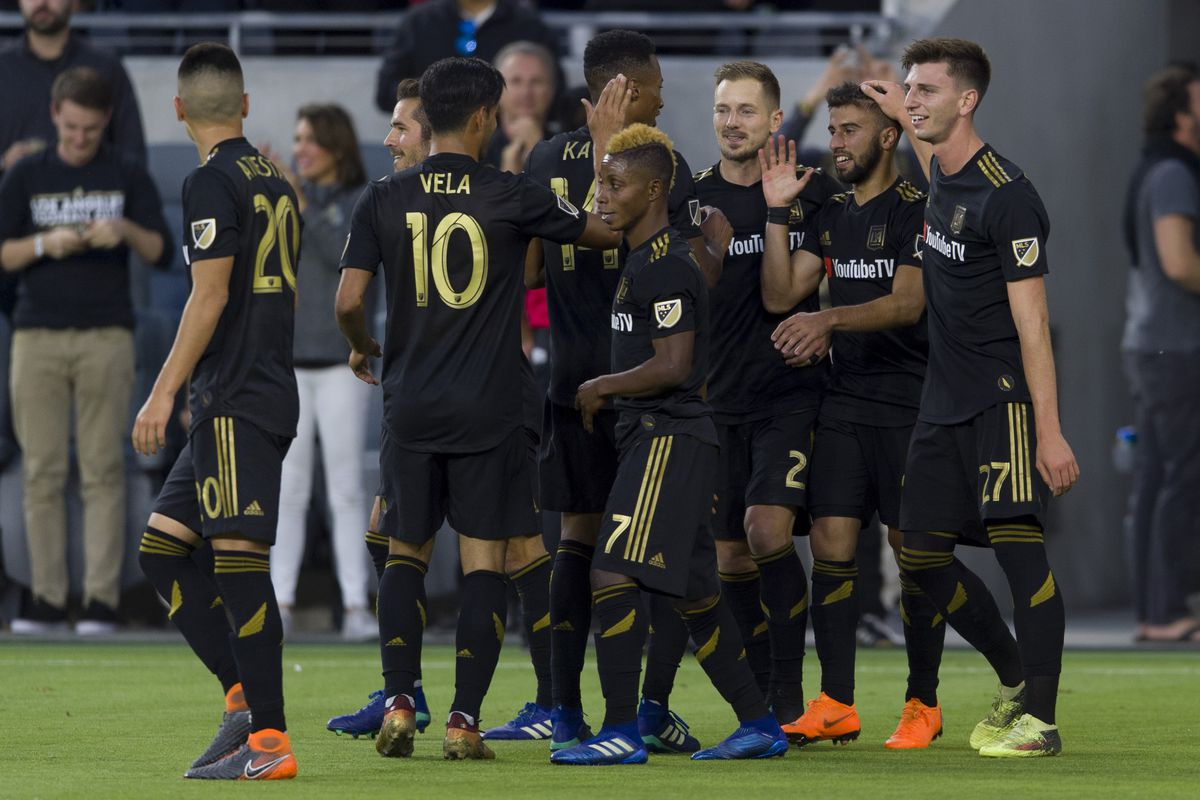 MLS: D.C. United at Los Angeles FC