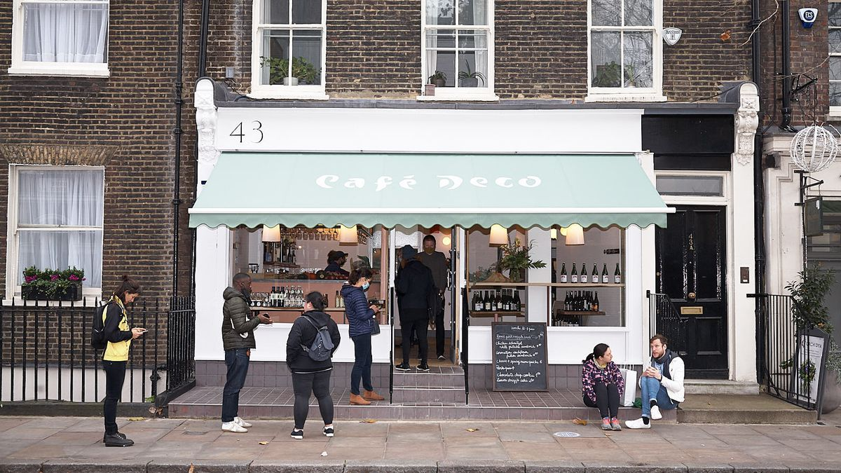 Cafe Deco, Anna Tobias' new restaurant in Bloomsbury —in partnership with 40 Maltby Street, one of London's best restaurants
