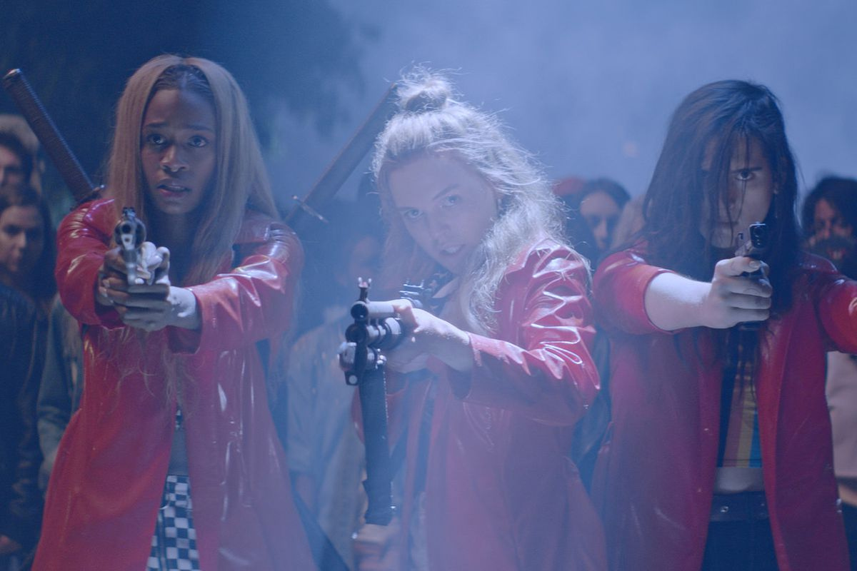 Assassination Nation is a vicious, cathartic horror film