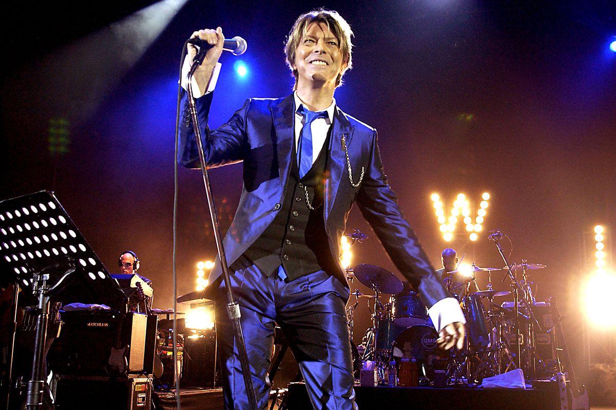 Pop Legend David Bowie In Concert