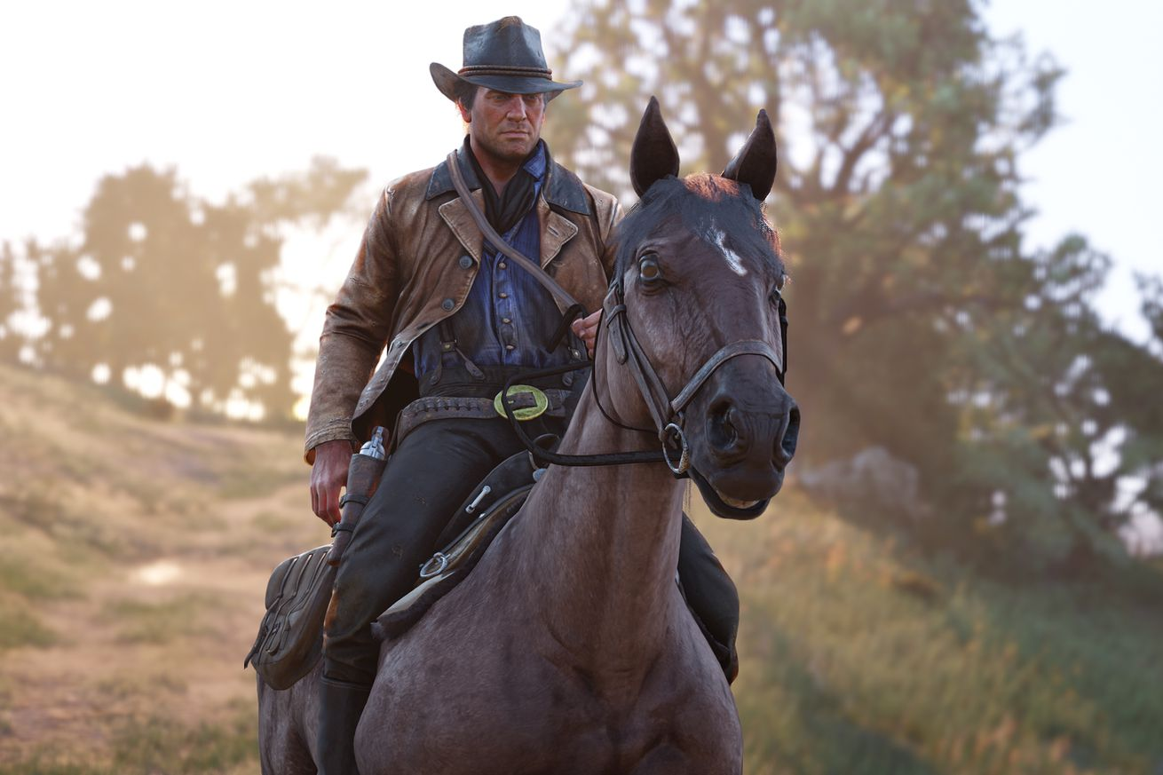 red dead redemption 2 hands on two hours with rockstar s wild west epic