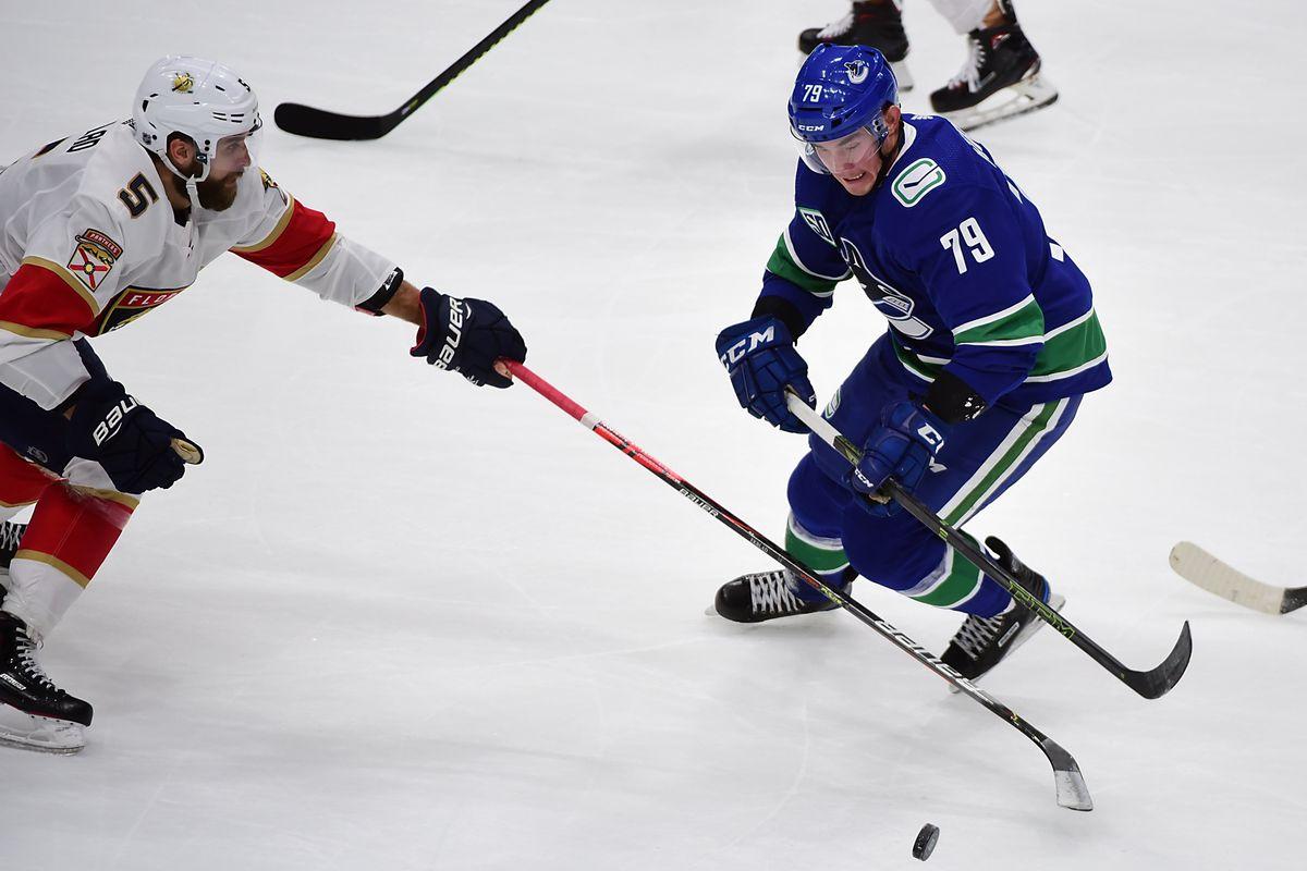 NHL: Florida Panthers at Vancouver Canucks