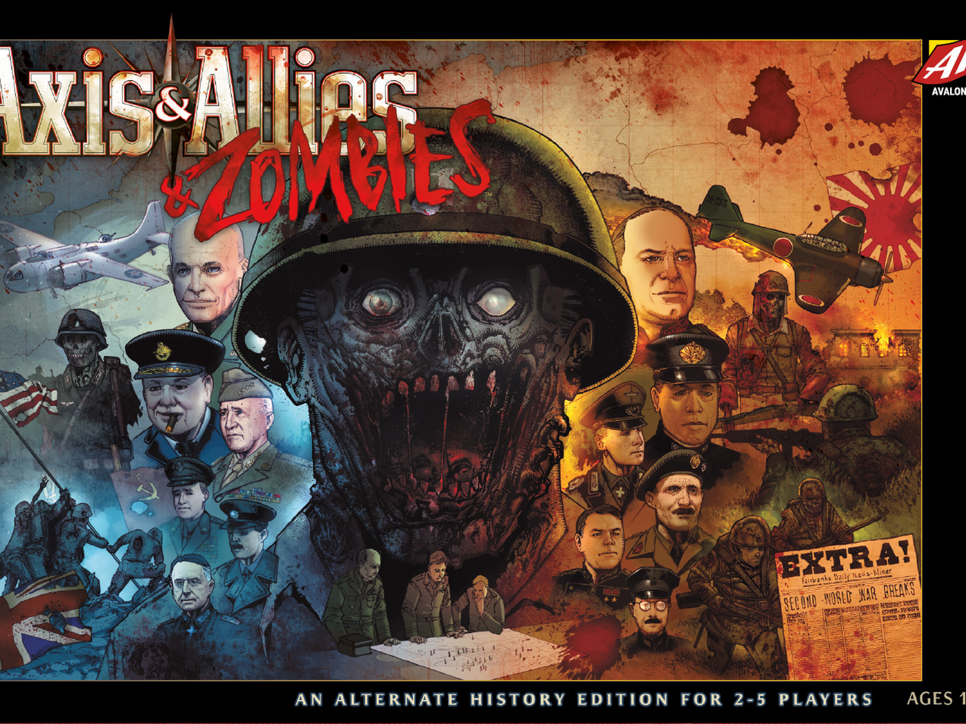 812b3426f462 Axis   Allies and Zombies brings undead to the classic WWII strategy game -  Polygon