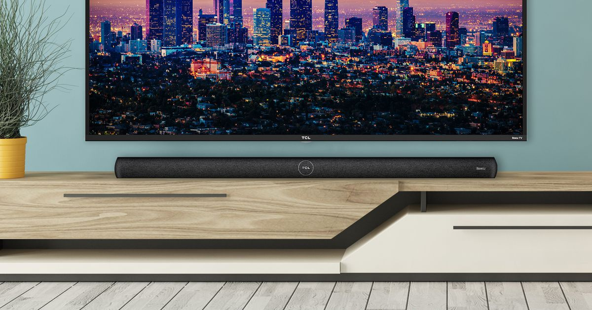 TCL announces the first soundbar with Roku's voice assistant - The Verge
