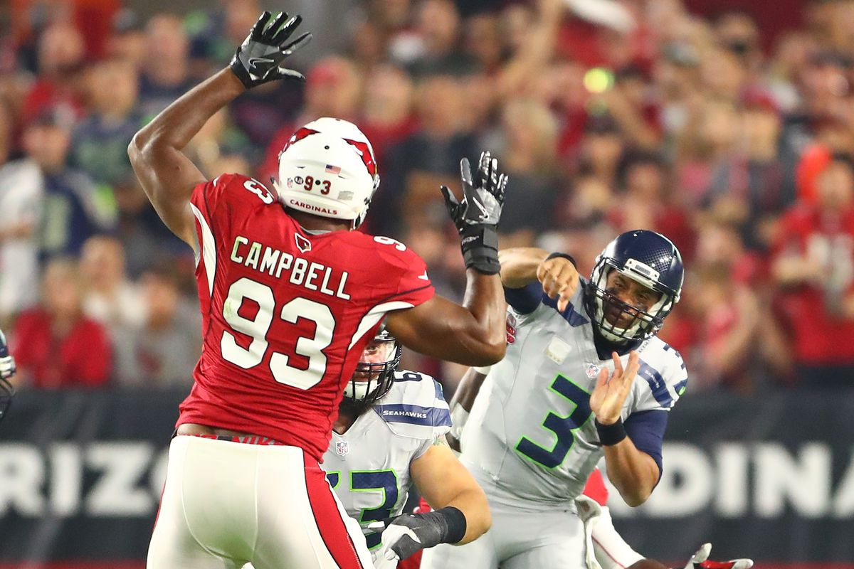 Report Arizona Cardinals not expected to keep Calais Campbell