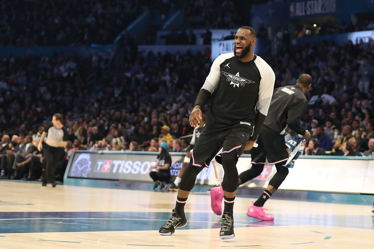 fd26d7be9f7 6 ways LeBron James  team made the 2019 NBA All-Star Game so fun