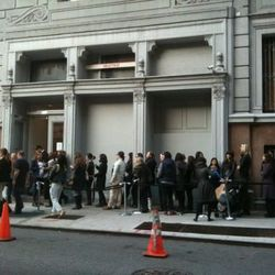 The line at YSL in October