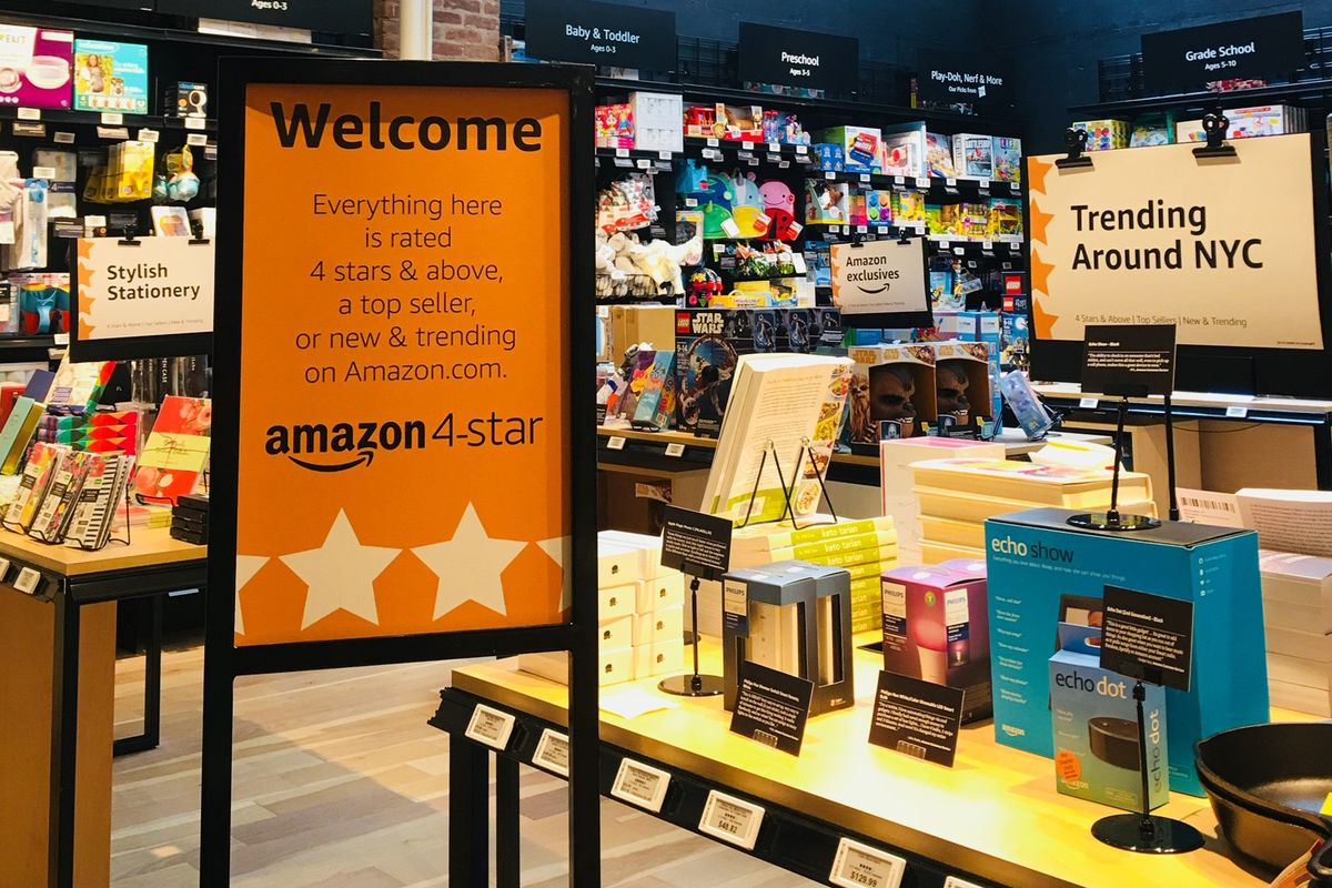 Amazon 4 Star Amazons New Store Sells Only Its Highest Rated