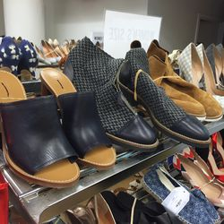 Ankle boots and heels, $100
