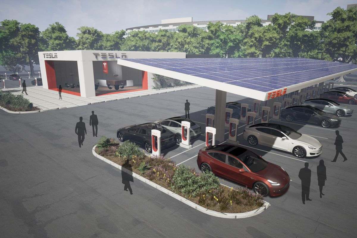 Tesla Will Double Its Supercharger Network In 2017 Curbed