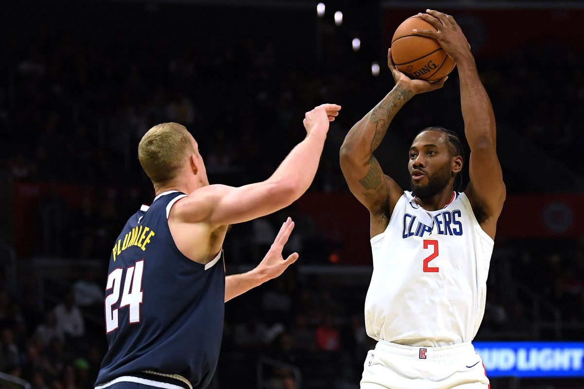 Clippers Fall To Nuggets 111 91 But Kawhi Leonard Dominates