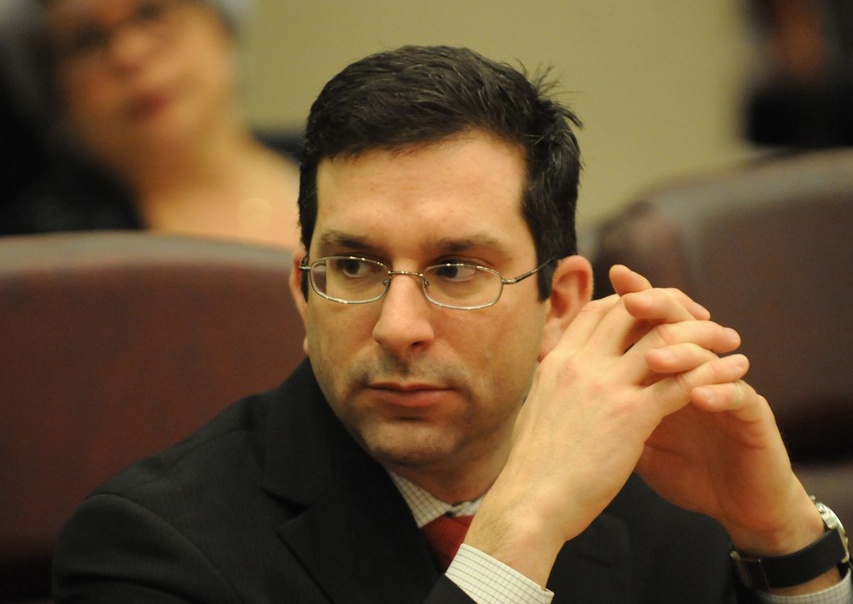 Ald. Scott Waguespack isn't happy about a plan to borrow even more money to keep CPS schools open through the end of the school year.   Sun-Times file photo