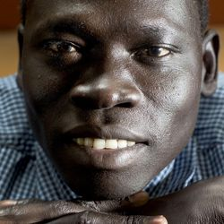 Solomon Awan, seen here in Salt Lake City on Tuesday, Aug. 30,  2016, was one of the first Sudanese Lost Boys to resettle in Utah in 2001.