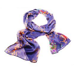 "Silk scarf, $200 by <a href=""http://www.mmmakaron.com/english.html"">Marina Makaron Moscow</a>"