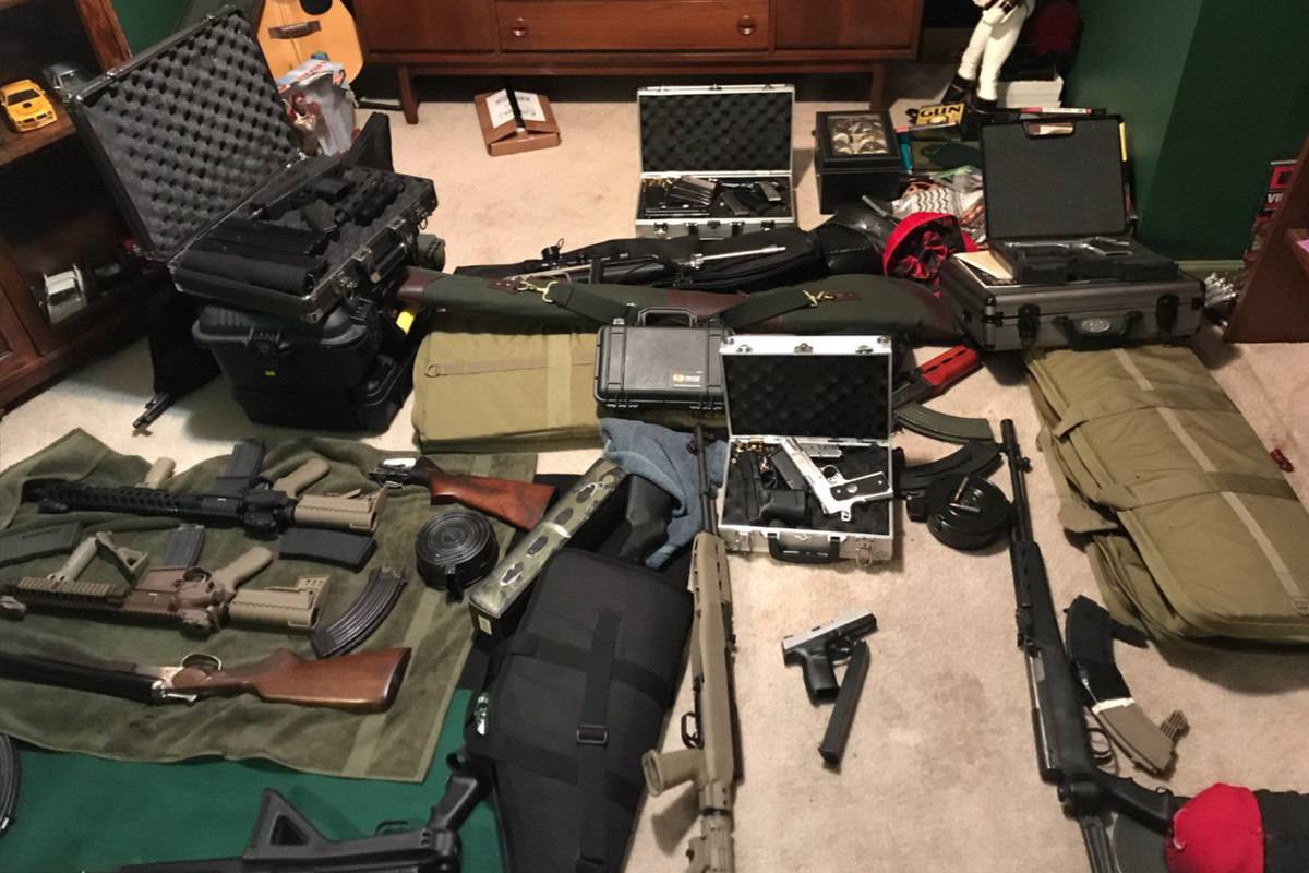 Huge stockpile of guns found in home largest seized in memory, West Side cops say