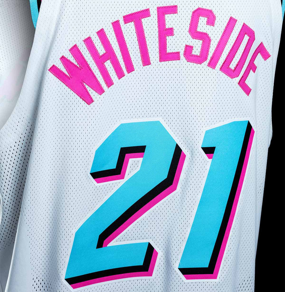 buy online 5c007 b4fea The Miami Heat have 'Miami Vice' jerseys and they are SO ...
