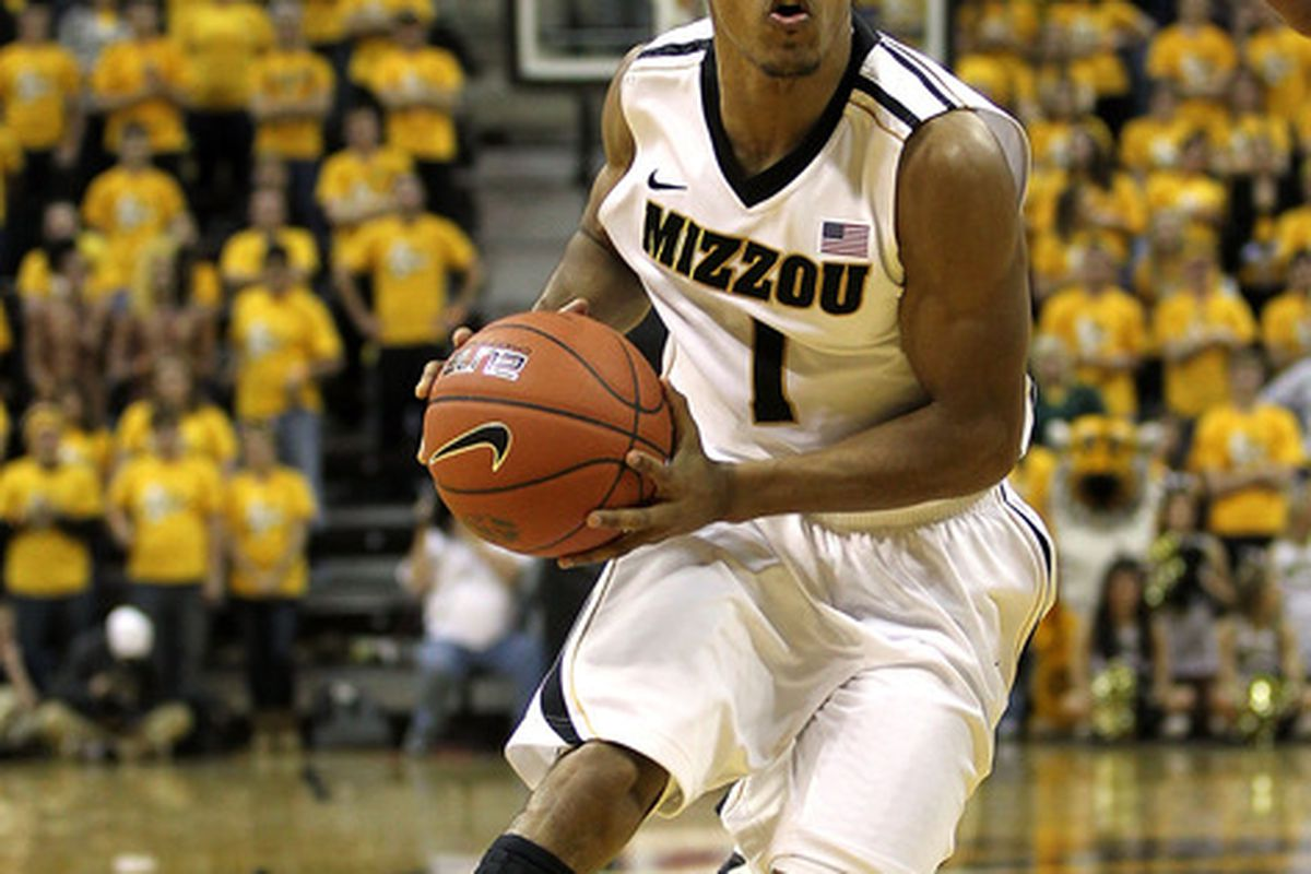 COLUMBIA, MO - DECEMBER 15:  Phil Pressey #1 of the Missouri Tigers drives during the game against the Kennesaw State Owls on December 15, 2011 at Mizzou Arena in Columbia, Missouri.  (Photo by Jamie Squire/Getty Images)