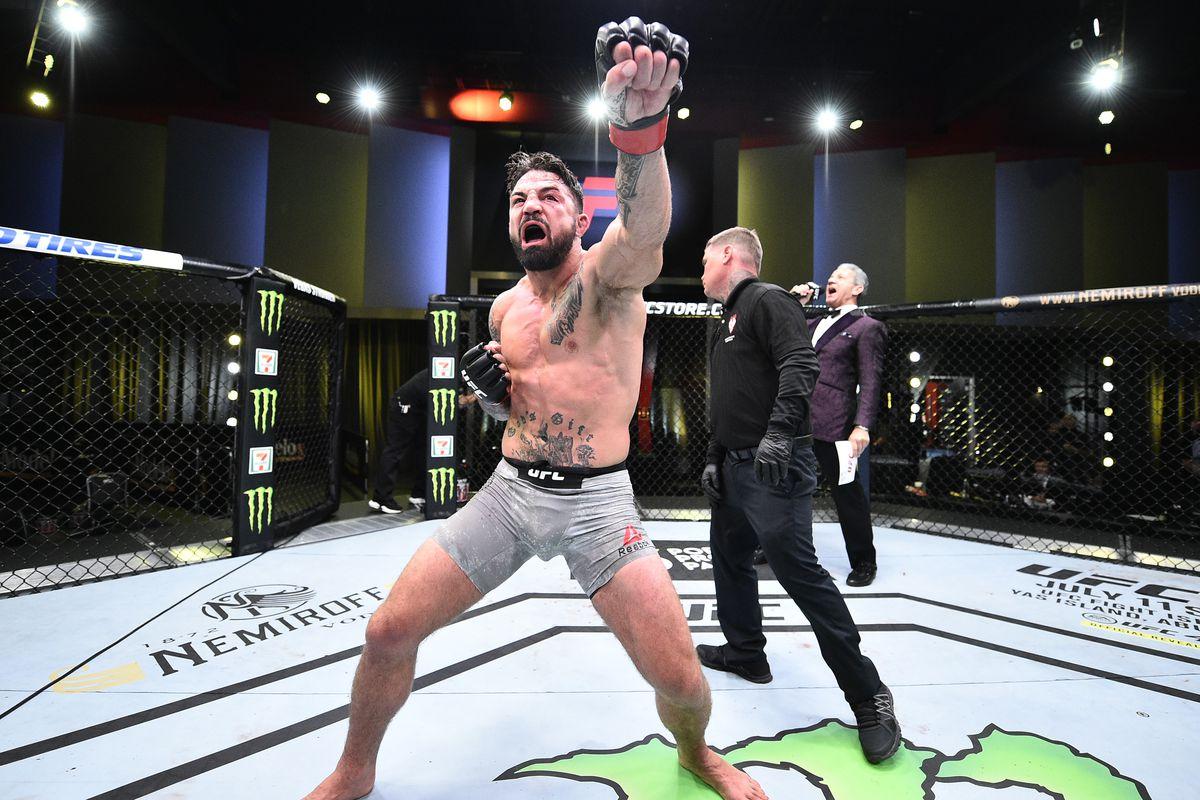 UFC Fight Night: Perry v Gall
