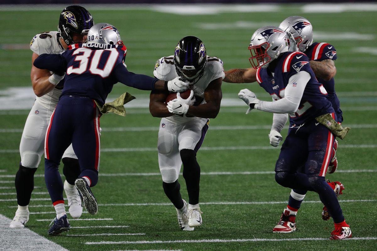 Baltimore Ravens v New England Patriots