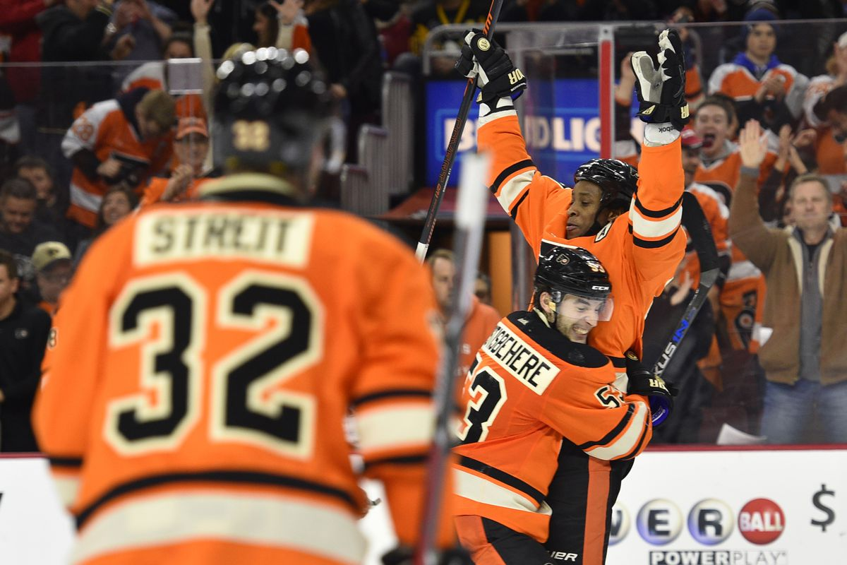 That feeling when the Flyers got a playoff spot last Saturday