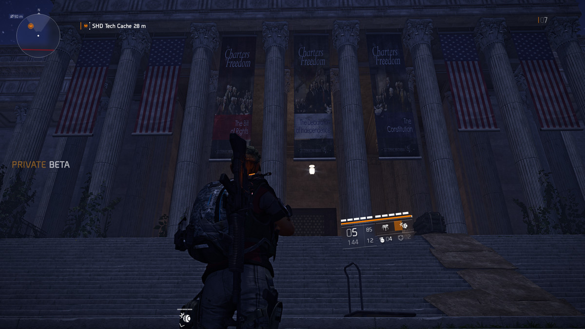 The National Archive in The Division 2's private beta