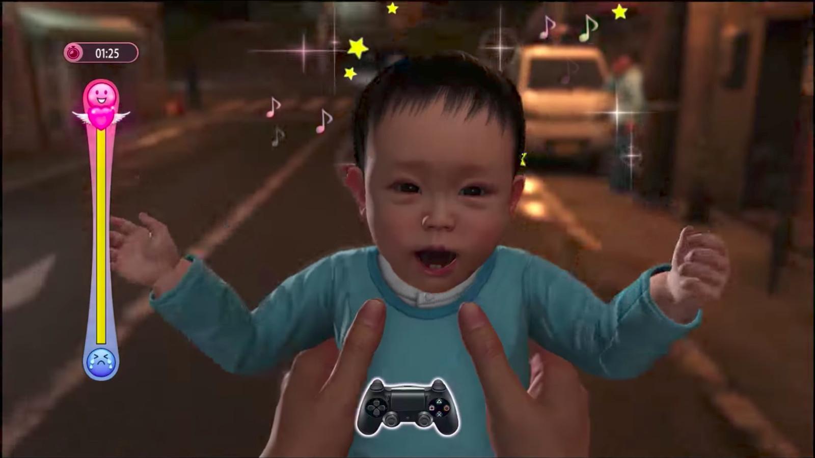 Yakuza 6 lets you cradle babies and take selfies