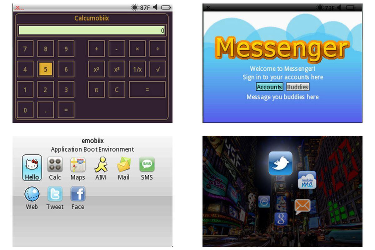 Peek app framework