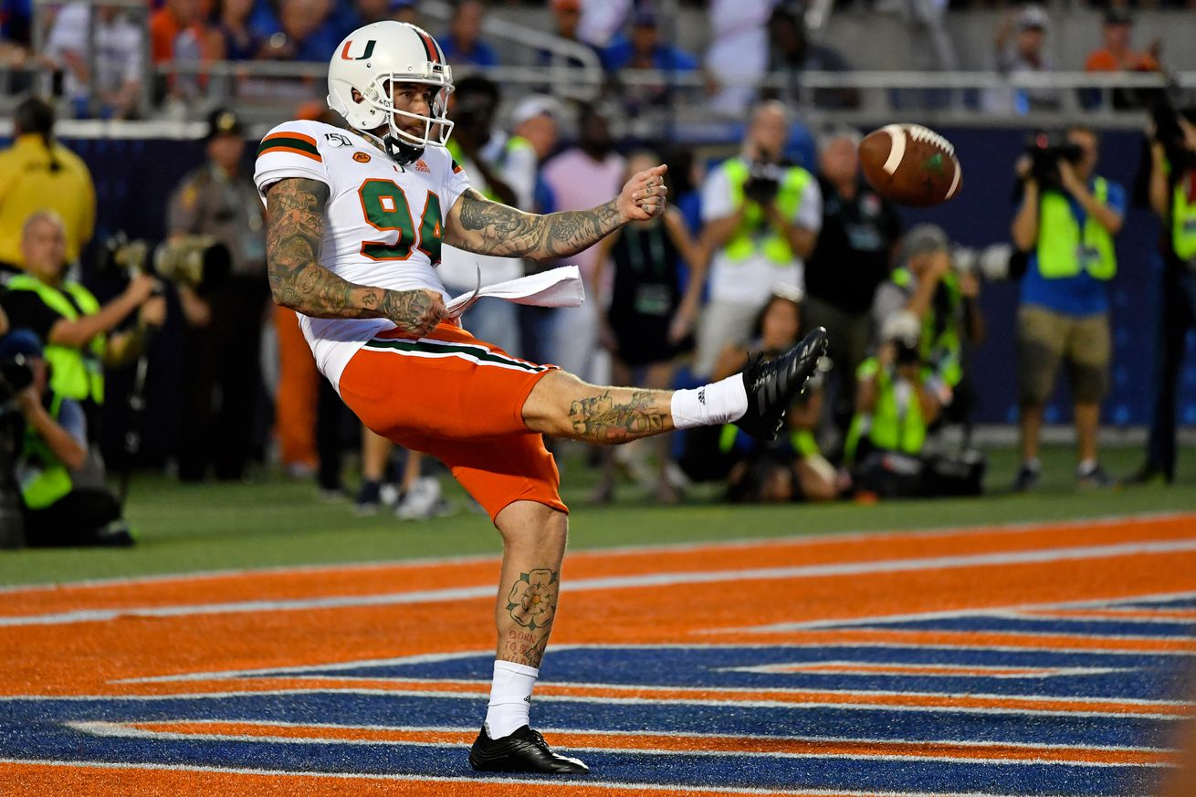 NCAA Football: Florida at Miami