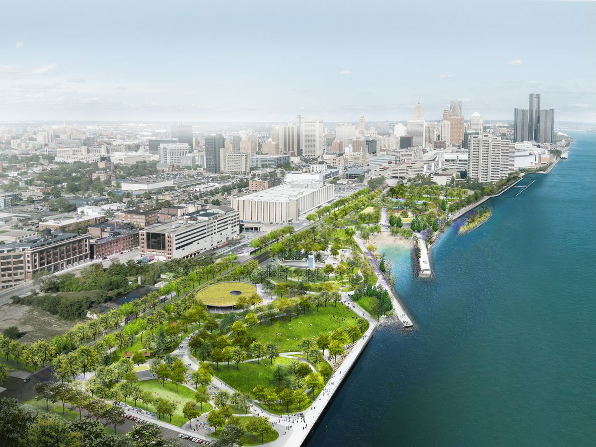 12 big developments set to transform Detroit - Curbed Detroit