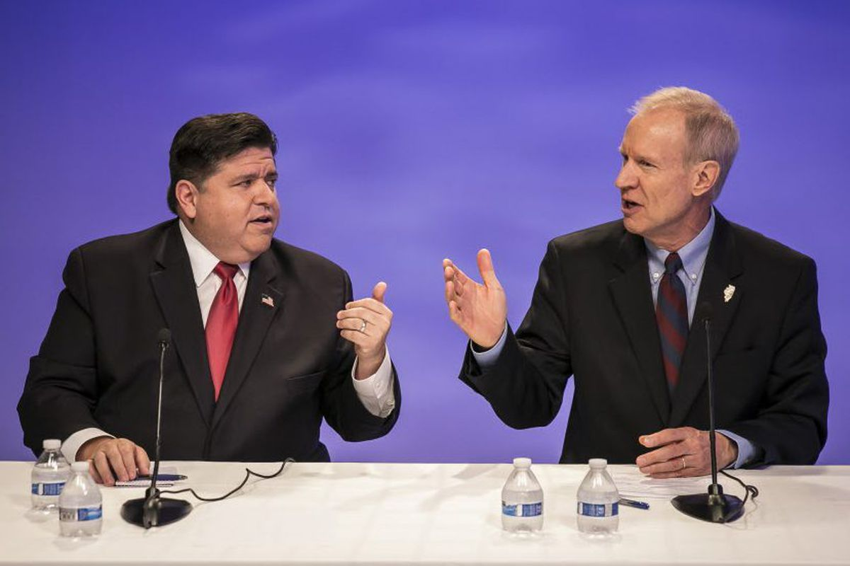J B  Pritzker and Bruce Rauner still rich, tax returns show