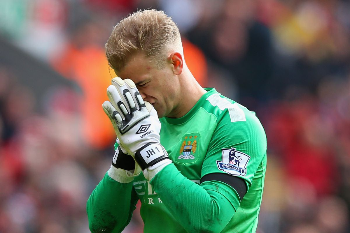 Joe Hart's reaction after hearing what Peter Shilton has to say about him