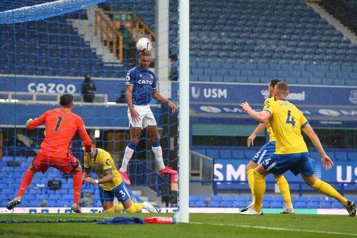 Everton 4 2 Brighton Instant Reaction Irresistible Royal Blue Mersey