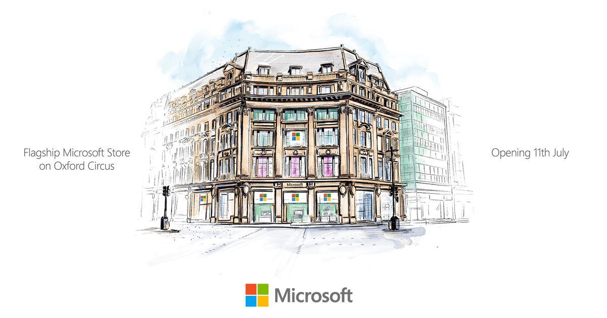 Microsoft's London store เปิดในวันที่ 11 กรกฎาคมที่ Oxford Circus thumbnail