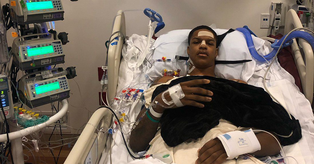 Shareef O'Neal is already looking forward to his basketball return hours after heart surgery