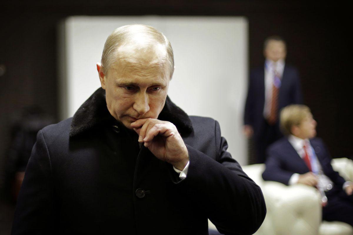 Vladimir Putin in Sochi in 2012
