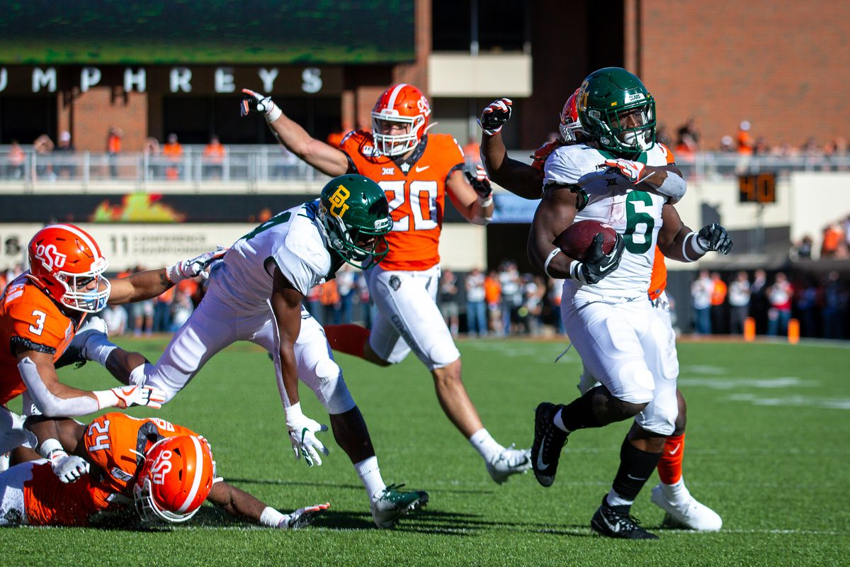 COLLEGE FOOTBALL: OCT 19 Baylor at Oklahoma State