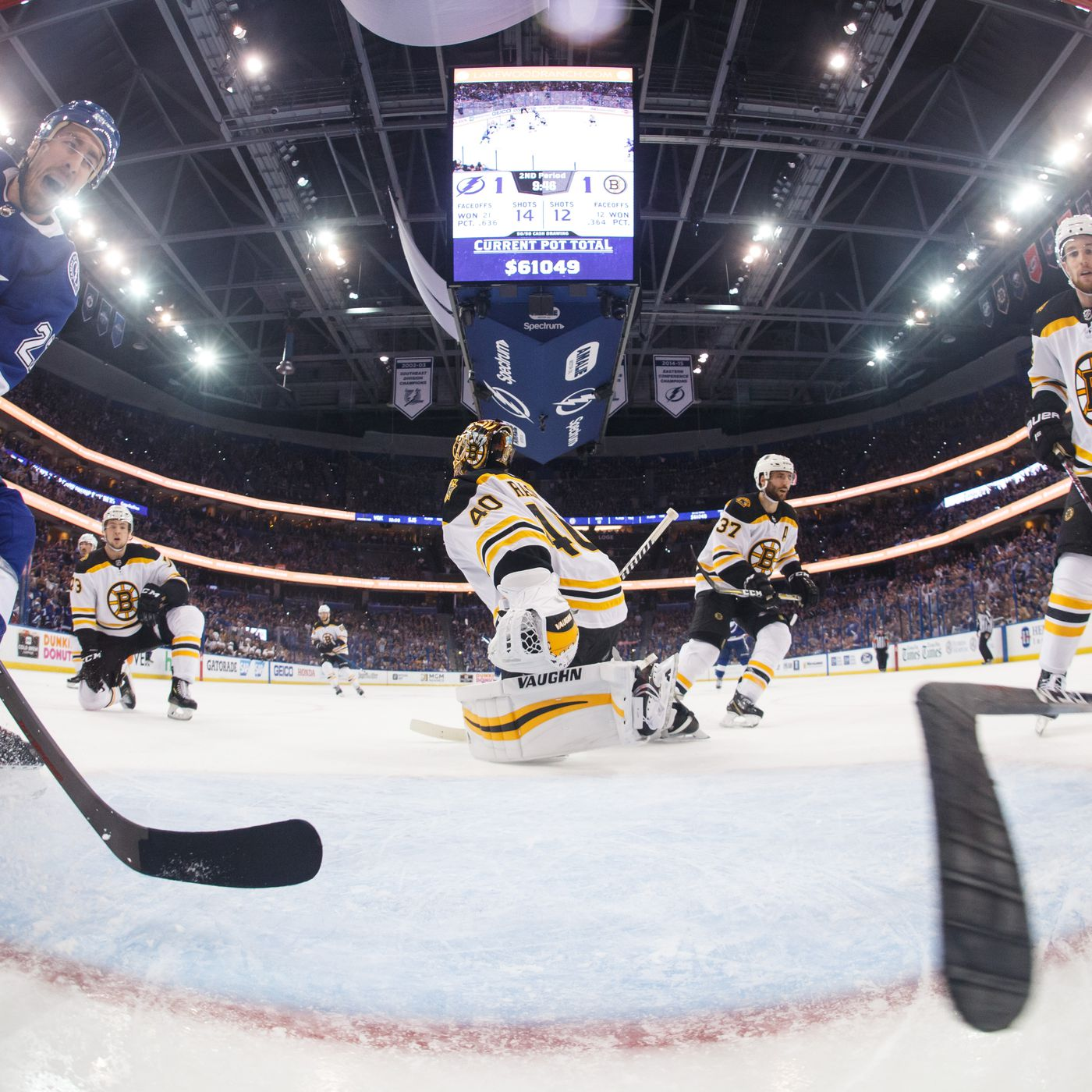Lightning Round Bolts Look To Even Series Against Boston Bruins Raw Charge