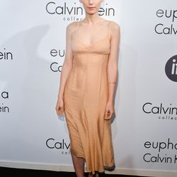 Always a trendsetter, Rooney looked like a ballerina in her lingerie-inspired slip.