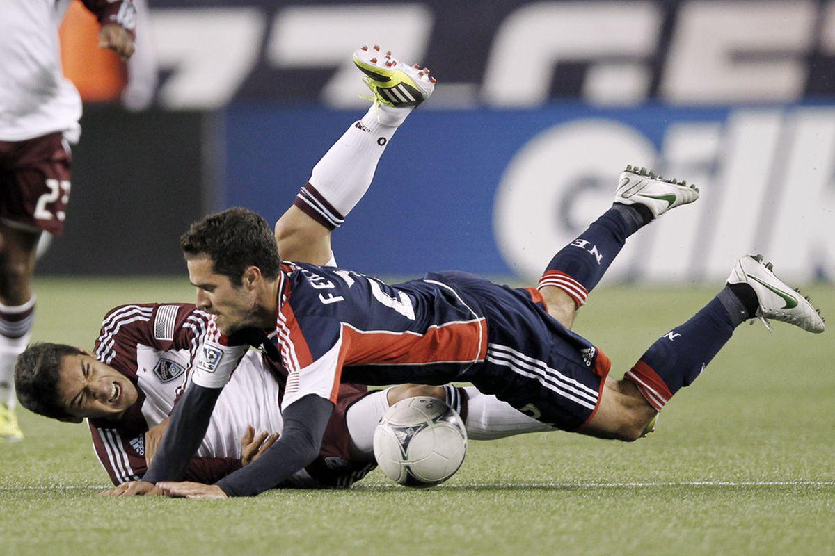 Pictured: Martin Rivero takes a nap