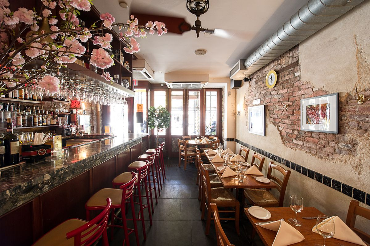 Remembering Da Silvano A RealDeal NYC Icon Eater NY - Table 41 restaurant