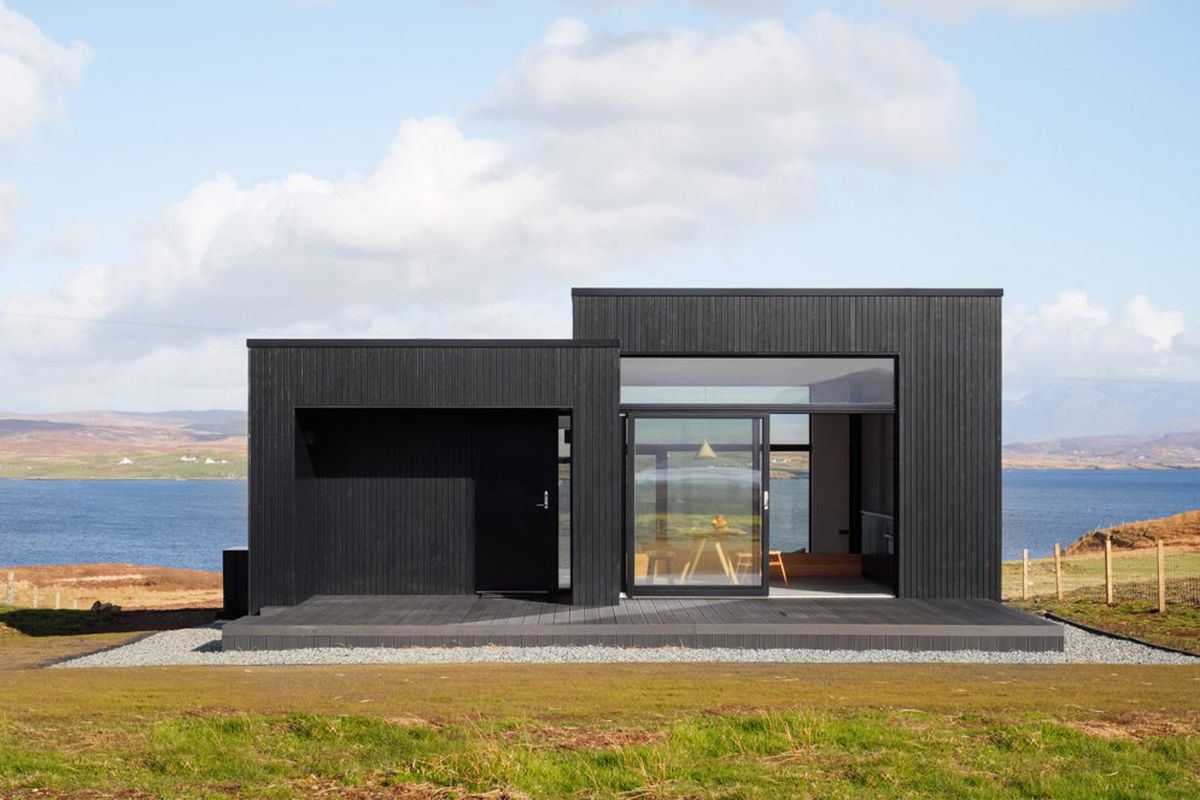 Minimalist Charred Timber Getaway Is Available To Rent Curbed