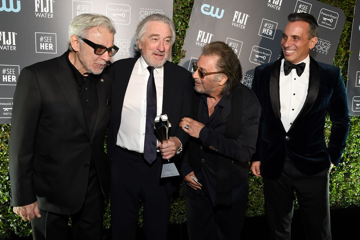 Champagne Collet at The 25th Annual Critics' Choice Awards