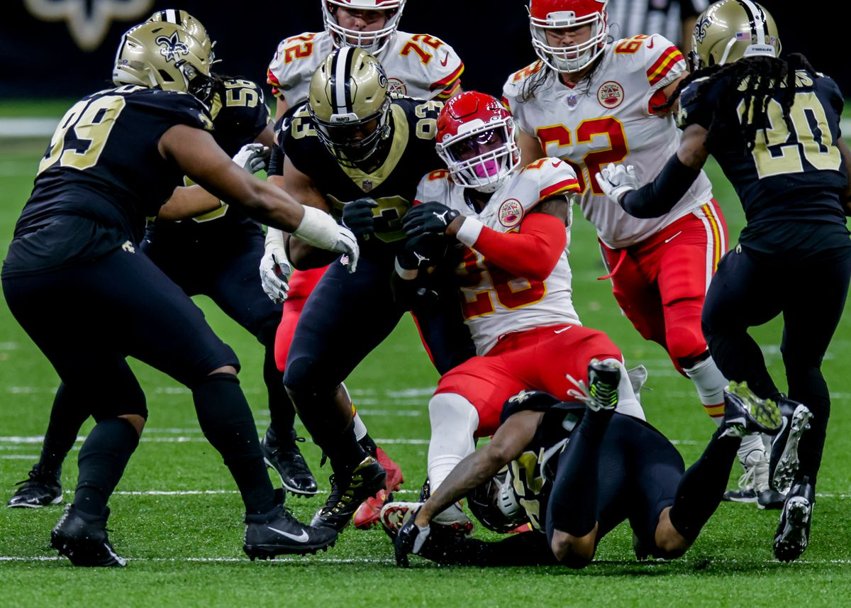 NFL: DEC 20 Chiefs at Saints