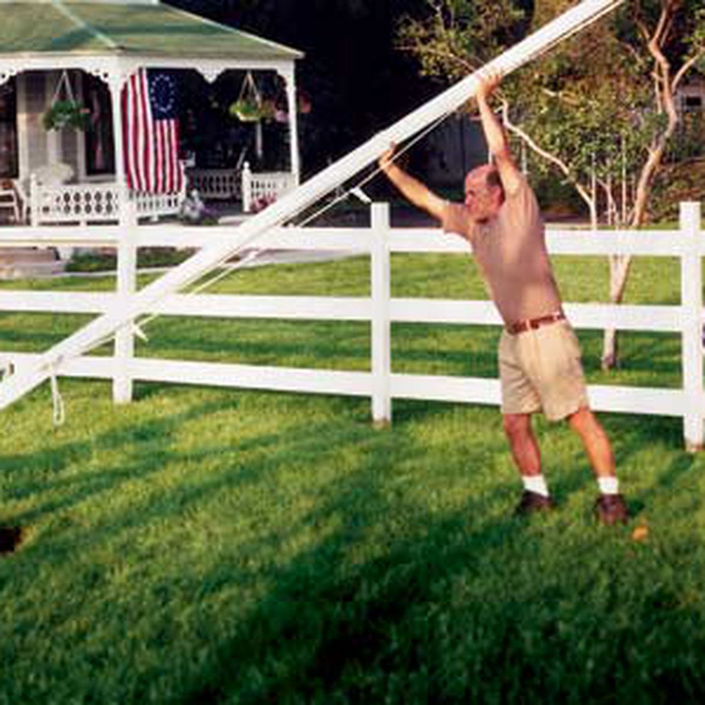 Flagpole Installation In 5 Steps This Old House