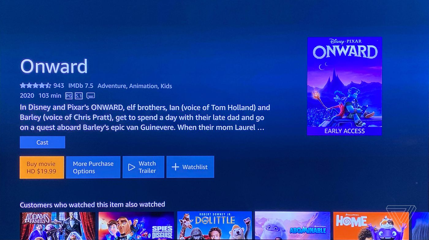 Amazon Prime Video Now Allows In App Rentals And Purchases On The Iphone Ipad And Apple Tv The Verge