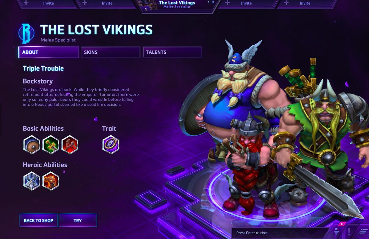 lost vikings heroes
