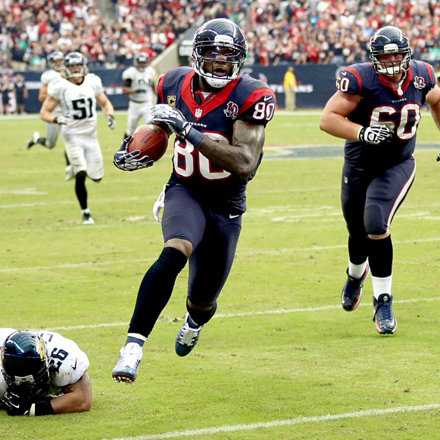 NFL Debrief: Andre Johnson saves the ...