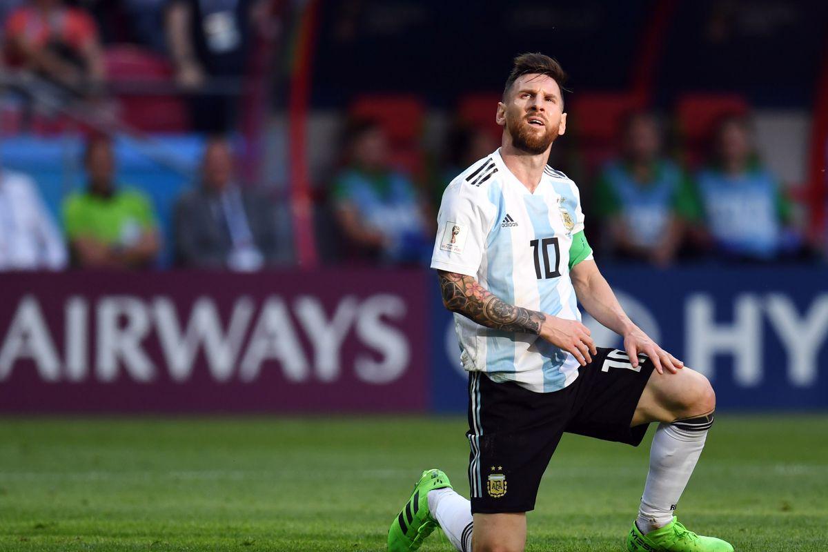 Soccer: World Cup-France vs Argentina