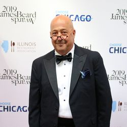 Chef Andrew Zimmern attends the James Beard Awards. | Brian Rich/Sun-Times