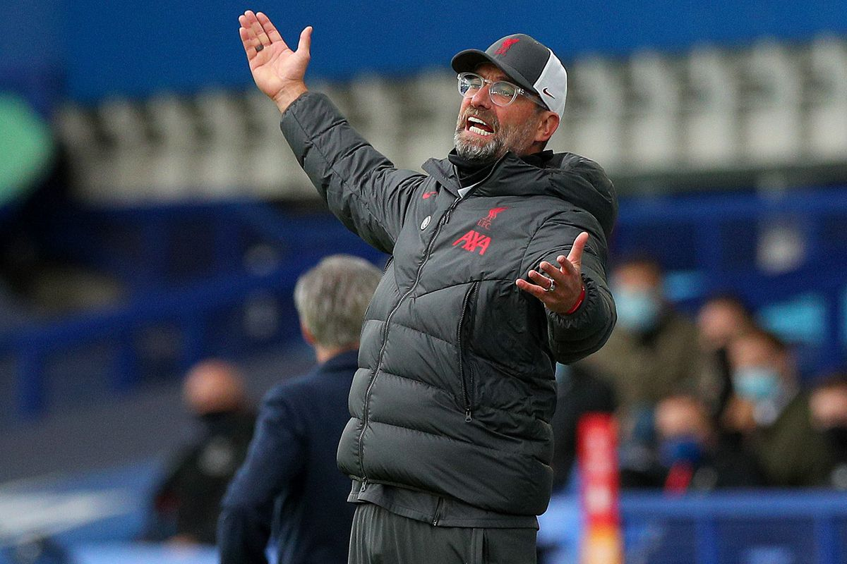 Klopp Slates Shambolic Var Decisions In Chaotic Merseyside Derby Draw The Liverpool Offside
